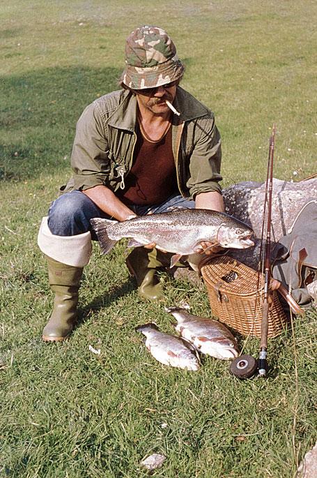 The river gacka the enchanted angler for Fishing report near me